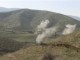Smoke rises after clashes between Armenian and Azeri forces in Nagorno-Karabakh region, which is controlled by separatist Armenians, in this still image taken from video provided by the Nagorno-Karabakh region Defence Ministry April 2, 2016. REUTERS/Nagorno-Karabakh Military Handout via Reuters TV  ATTENTION EDITORS - THIS PICTURE WAS PROVIDED BY A THIRD PARTY. REUTERS IS UNABLE TO INDEPENDENTLY VERIFY THE AUTHENTICITY, CONTENT, LOCATION OR DATE OF THIS IMAGE. EDITORIAL USE ONLY. NOT FOR SALE FOR MARKETING OR ADVERTISING CAMPAIGNS. NO RESALES. NO ARCHIVE. THIS PICTURE IS DISTRIBUTED EXACTLY AS RECEIVED BY REUTERS, AS A SERVICE TO CLIENTS.