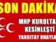 MHP Kurultayı`na Yargıtay`an onay: 15 Mayıs artık kesinleşti